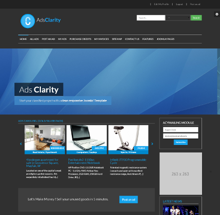 Ads Clarity - Classified Ads Software
